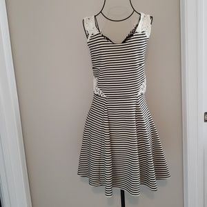 Skater Striped Dress